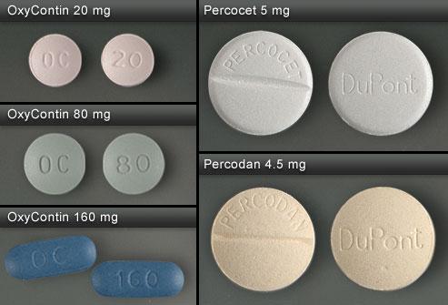 percocet pills.