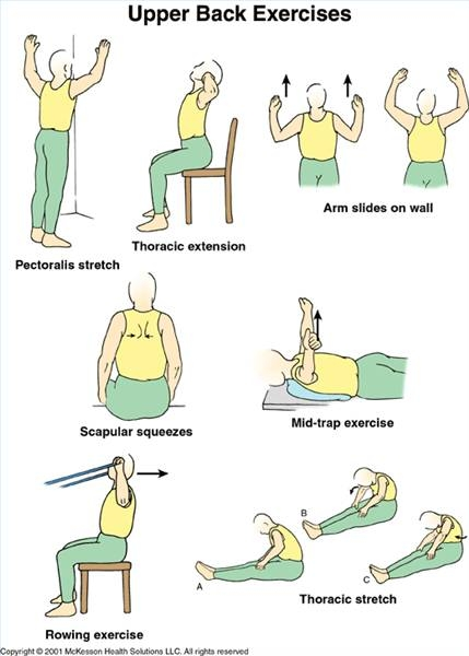 upper back exercise